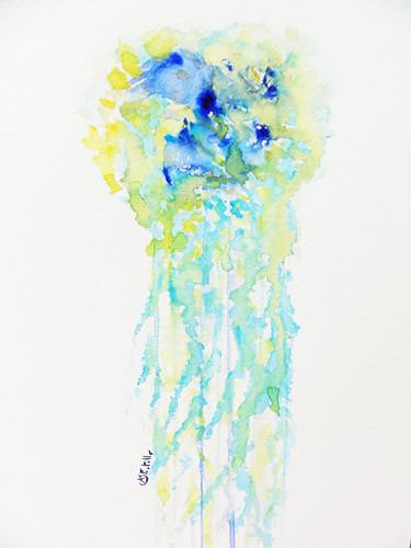 La dame de l'eau - 31x41cm, 2020