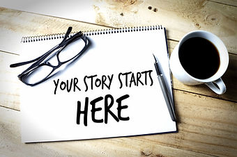 Motivation Concept_ Your Story Starts He