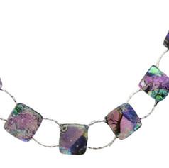 Dichroic Glass Bracelets