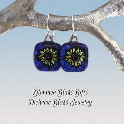 Sunflower Pendant or Earrings