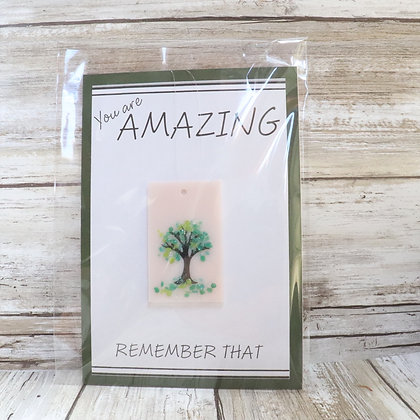 Greeting Card with Suncatcher - You are AMAZING - wholesale