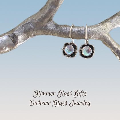 Copy of Sterling Silver Dot Clover Earrings wholesale