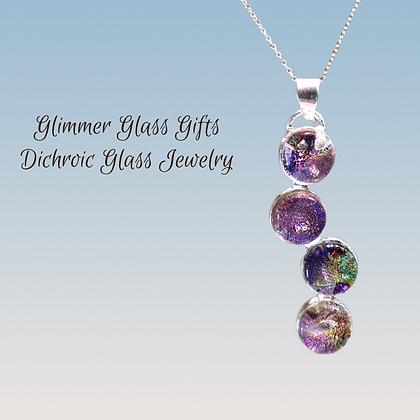 4 piece Sterling Silver circles pendant wholesale