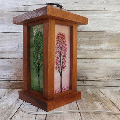 Cherry Wood Lanterns-Wholesale