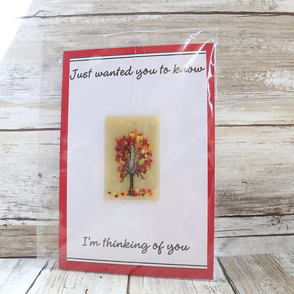 Greeting Card with Suncatcher - Just wanted you to know - wholesale