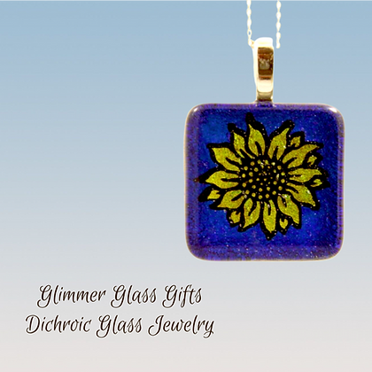 Sunflower Pendant and Earrings Wholesale