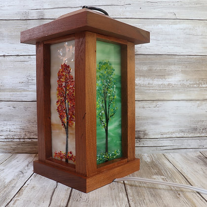 Cherry Wood Lanterns, SOLD, more coming soon