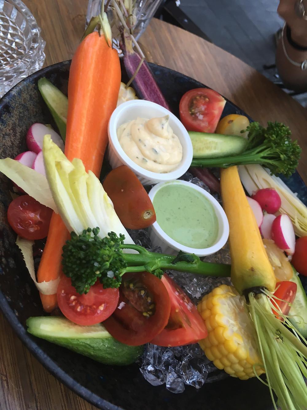 בר א וין. קרודו ירקות