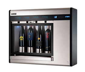 smart dipensador vino 4 botellas
