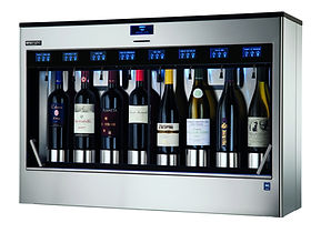 elite dispensador vino 8 botellas