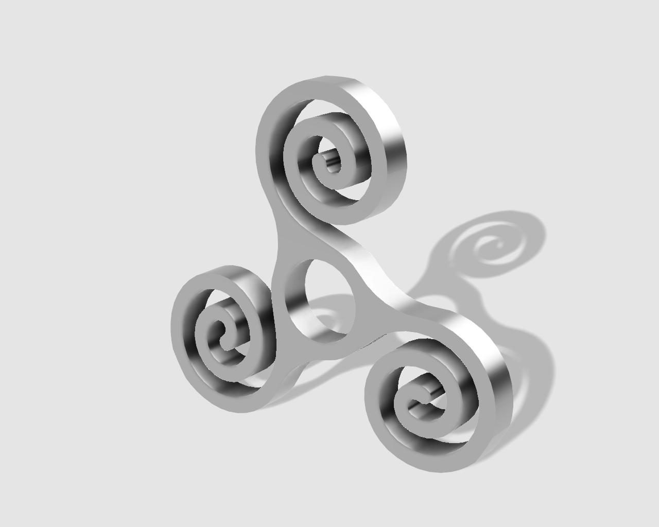 45rpm adaptor - triple spiral
