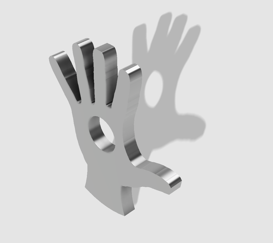 45rpm adaptor - hand