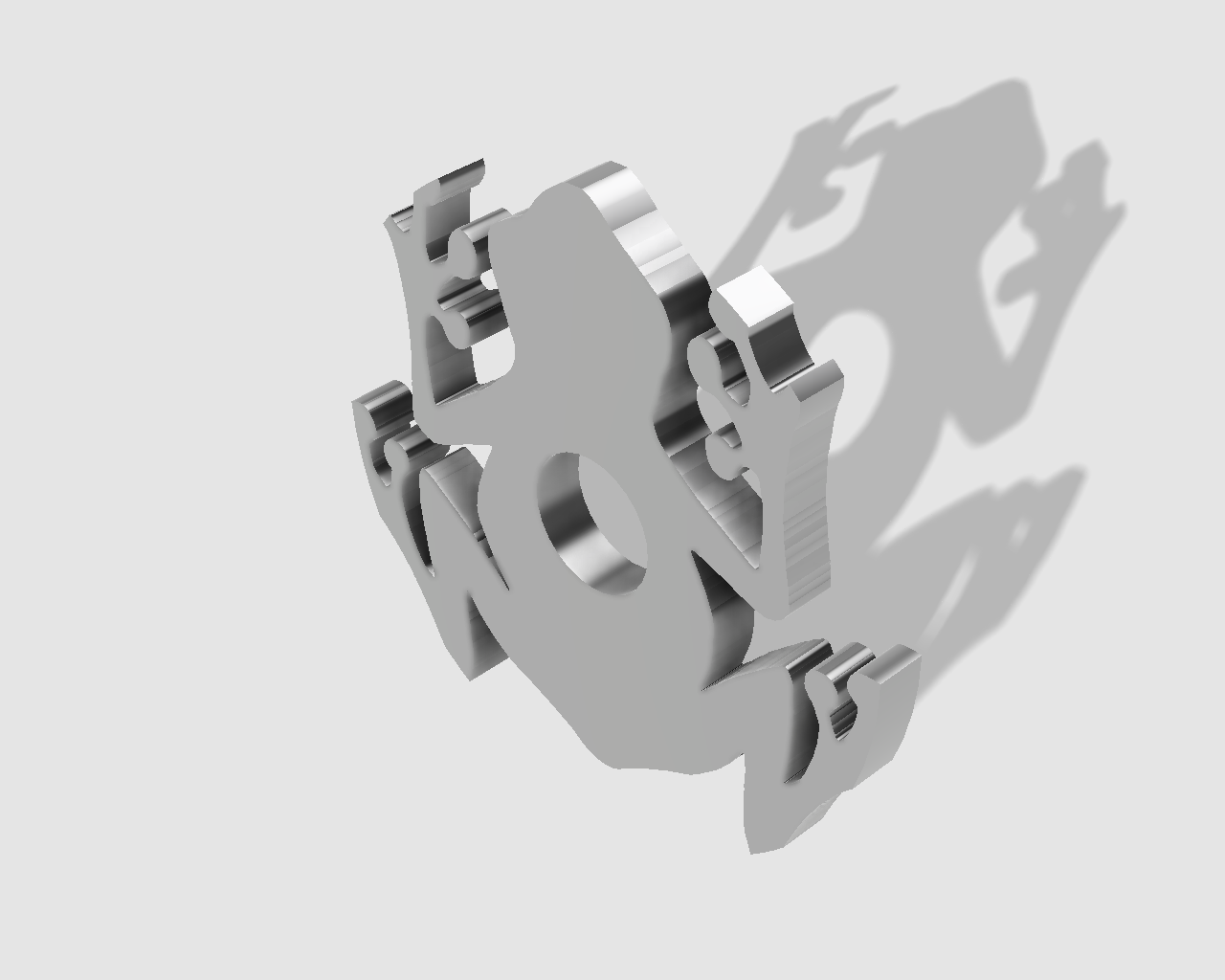 45rpm adaptor - frog