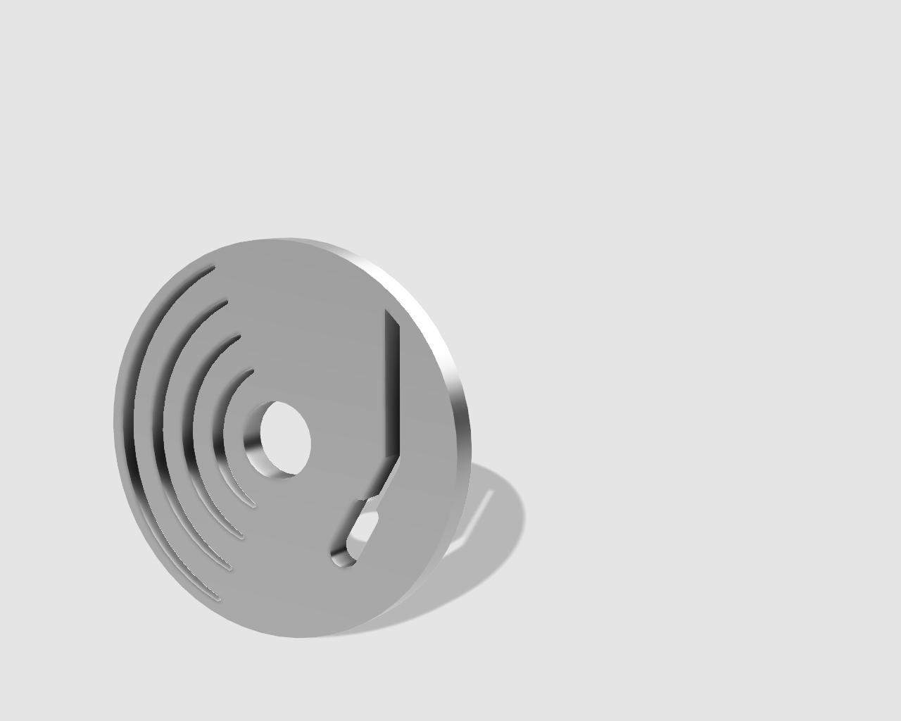 45rpm adaptor - turntable