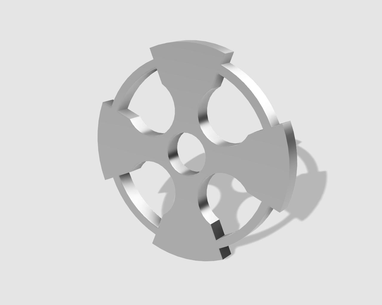 45rpm adaptor - celtic cross
