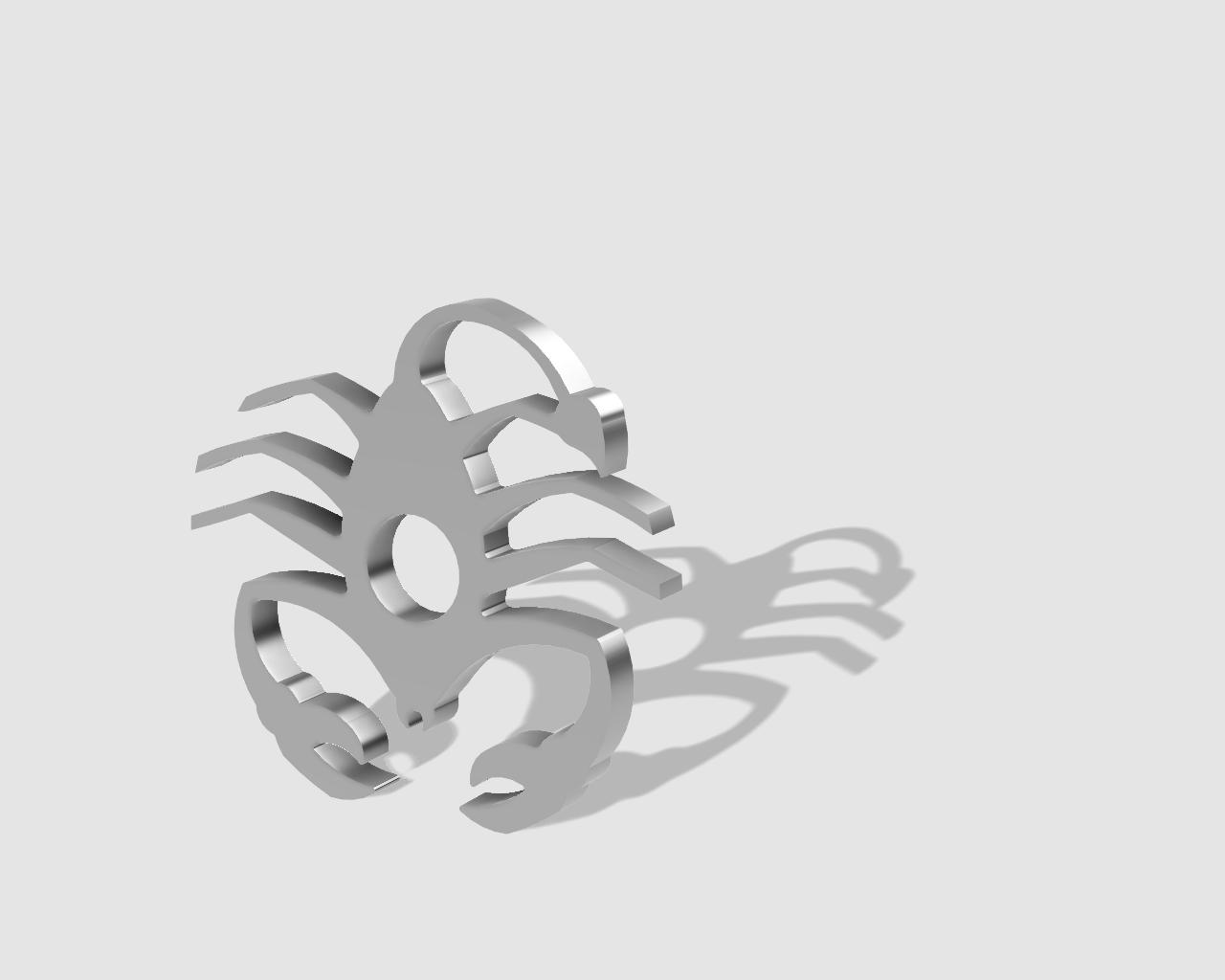 45rpm adaptor - scorpian