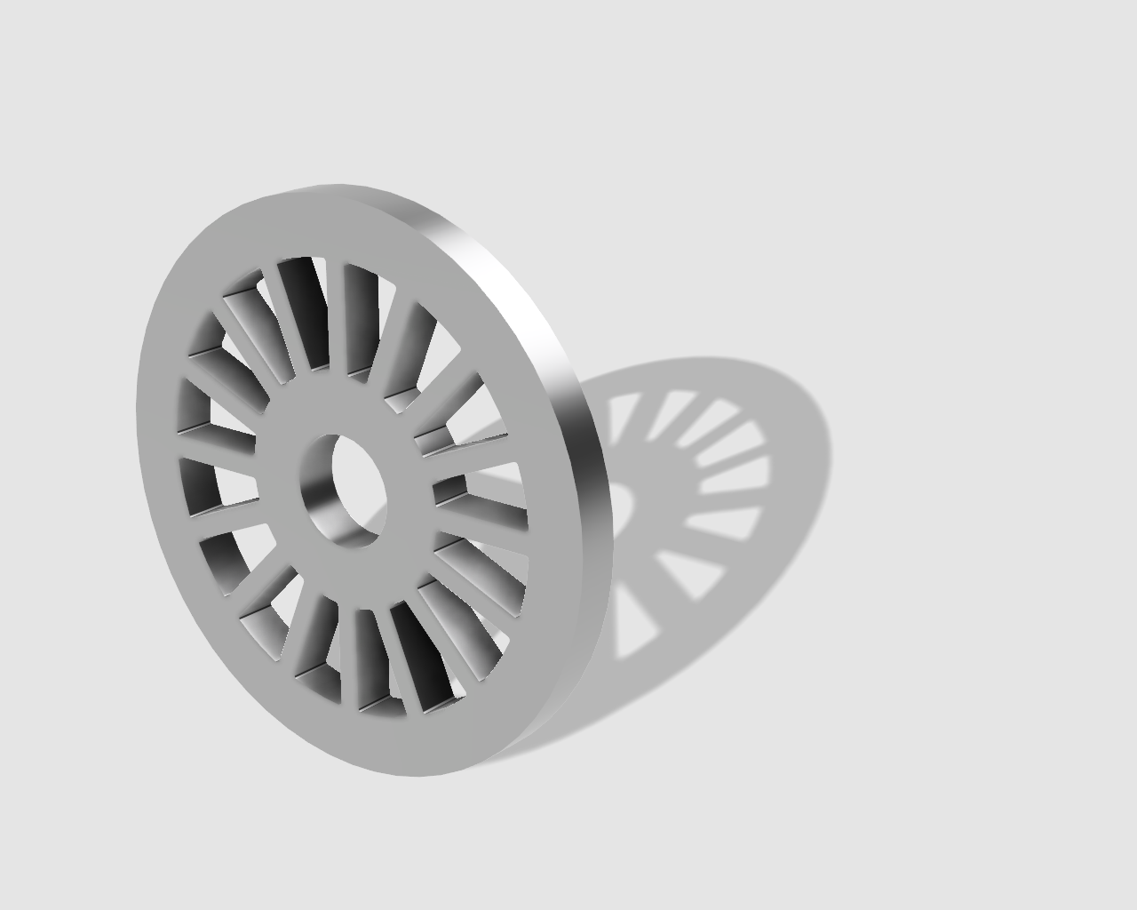 45rpm adaptor - wheel