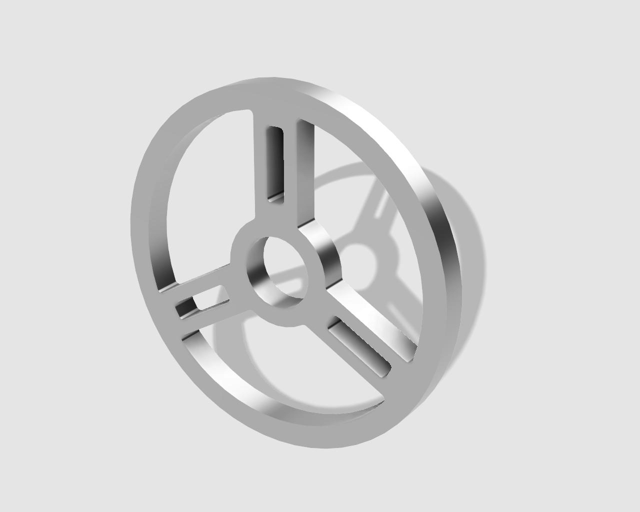 45rpm adaptor - steering wheel