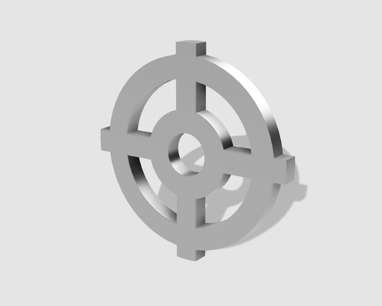 45rpm adaptor - cetlic symbol