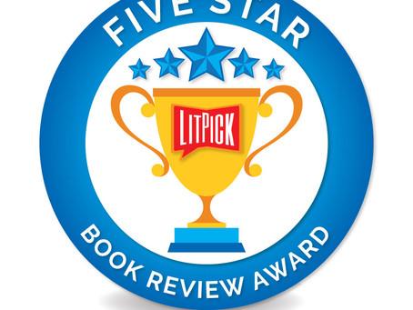 5-Star Review for V&V by LitPick
