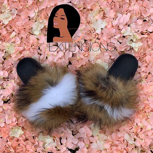 Adult pre-order fur slides