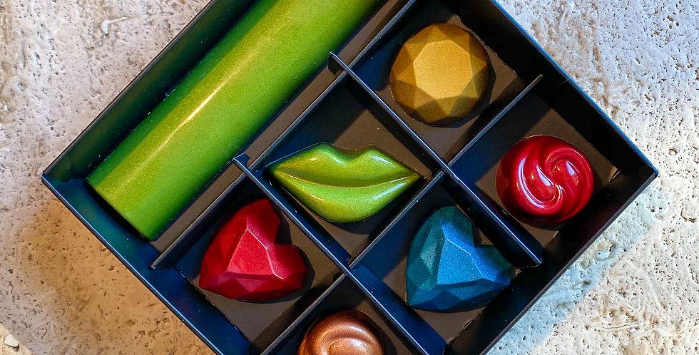 Σοκολατάκια & Μινι Μπαρα σοκολατας  concept Motley box