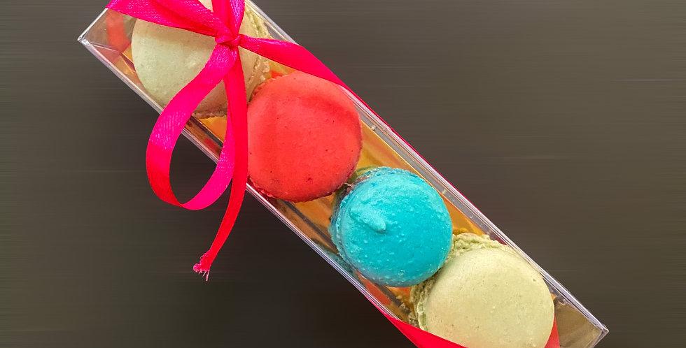 Macarons Box 4 τεμ