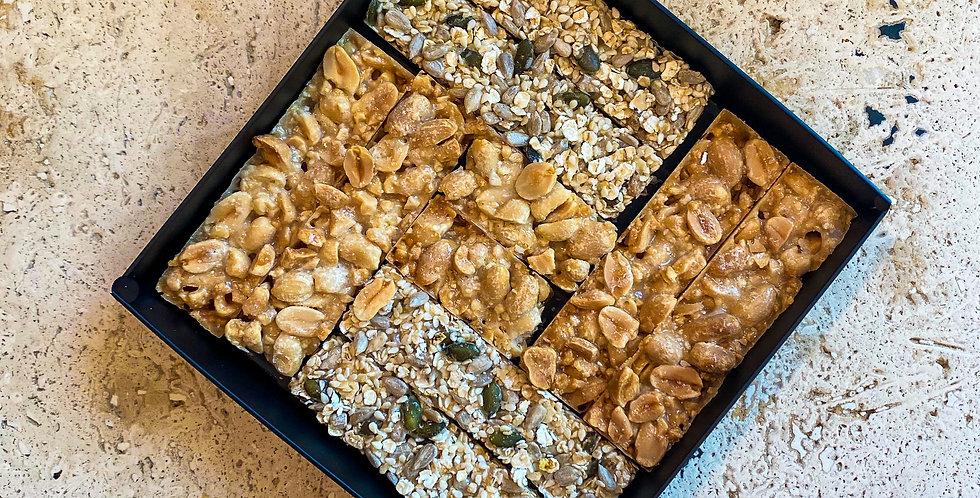 Sweet bars ξηρών καρπών και βρωμης Motley box