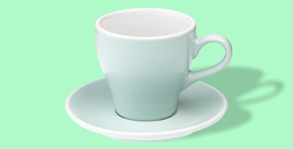 Φλυτζάνι Tulip Espresso με πιατάκι (river blue) 80ml