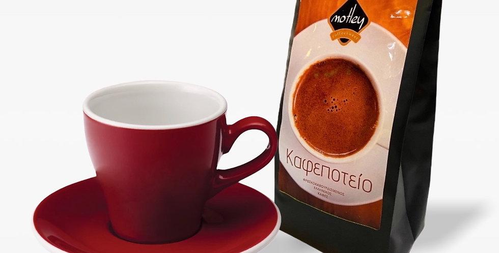 Φλιτζανι και Ελληνικος καφες 150gr