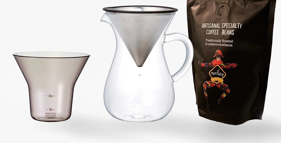 Coffee Brewing Jar & 200gr bag Monte Alegre Filter coffee