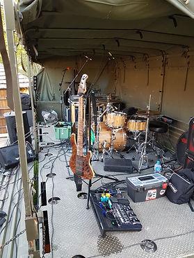 Set up @ Canterbury Barracks on a TRUCK!