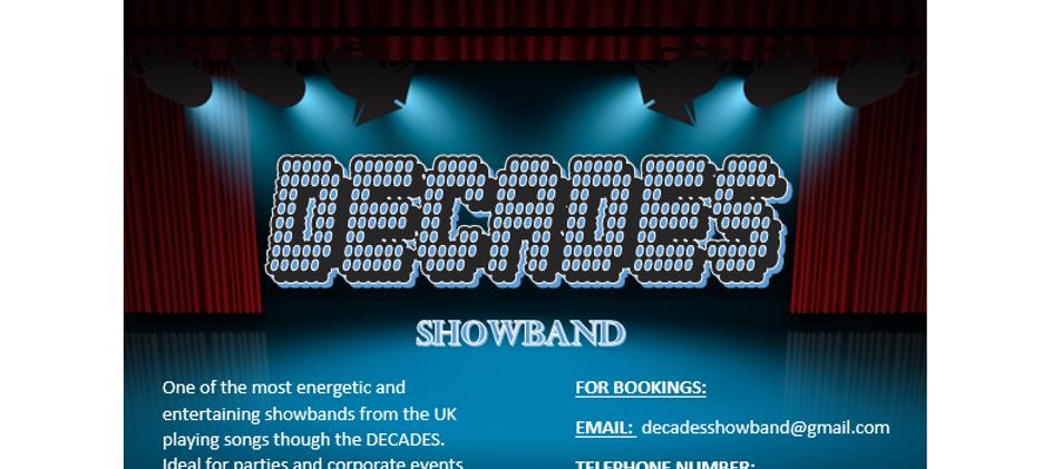 Decades Showband