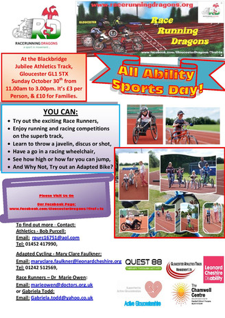 All ability sports poster by HP 2016 901