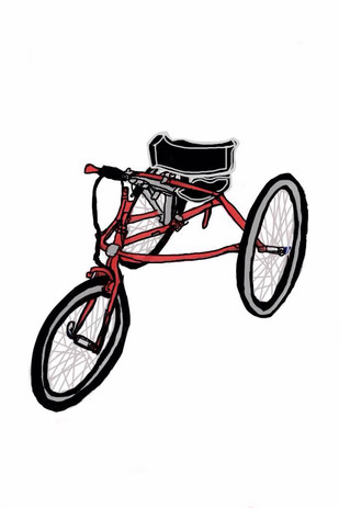 My Edited Drawing of a Red Race Runner B