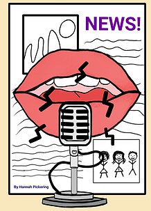 My Digital Mouth & Microphone Drawing wi