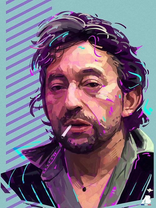 Print Gainsbourg