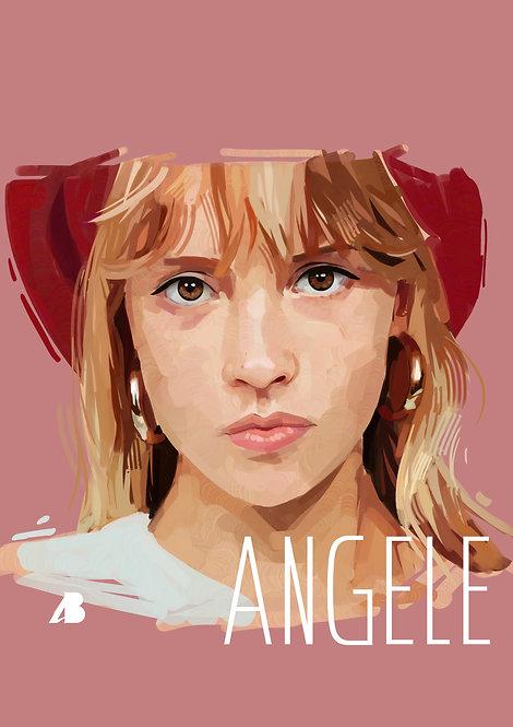 Print Angèle