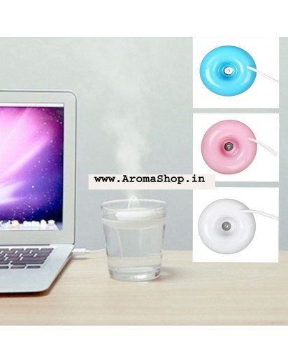 Mini USB Air humidifier donuts purifier,Aroma diffuser steam for Office & Home