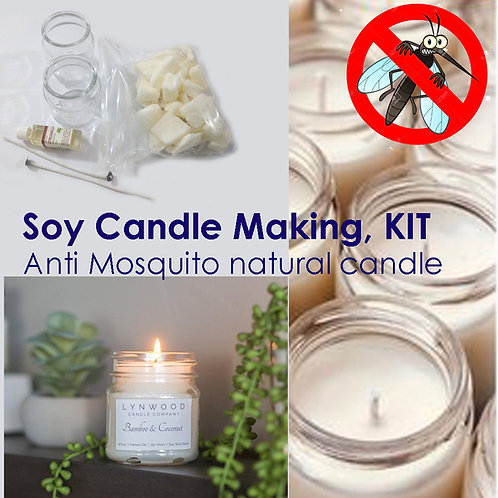 Candle Making kit, Soy wax candle making kit with Citronella