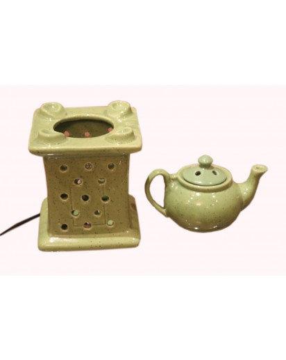 """Electric Aroma Lamp, 9"""" teapot"""