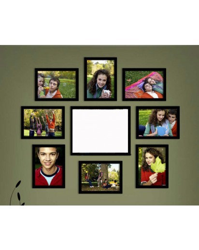 Photo frames, Set of 9 frames- 5x7(8),8x10(1)