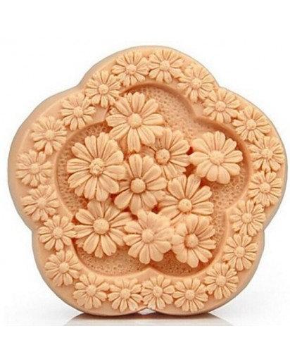 Silicone soap mold-DAISY,Cake, Chocolate decoration