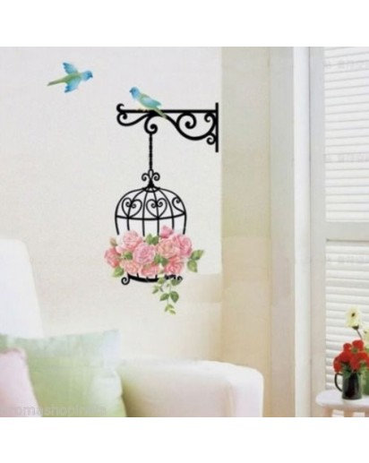 Piegon set wall sticker, Home decor, Decal