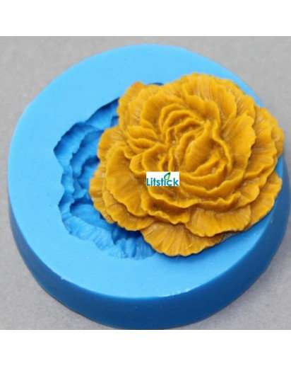 Silicone Mold Gardenia,Candle mold,Chocolate Mould,Cake decoration