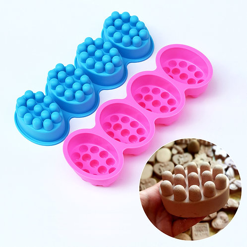 Massaging Soap Mold tray of 4