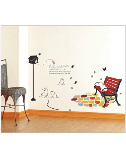 50x70cm, Good Time Wall decal Sticker