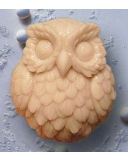 Silicone Candle mold-OWL, Soap, Cake, Chocolate decoration