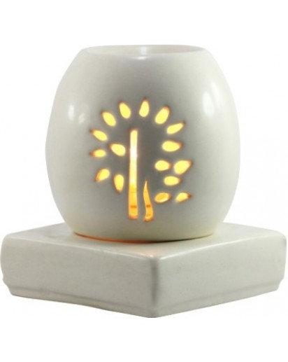 "Electric Aroma Lamp, 6"" inch round Buddha Tree"