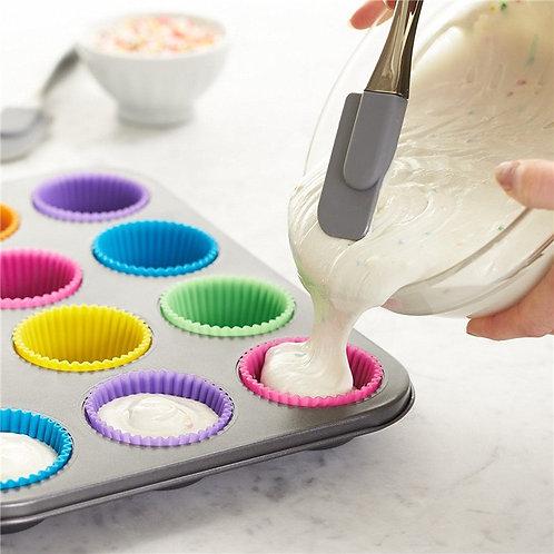 Muffin mold, 12 muffin aluminum tray